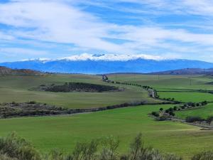 25-Así luce Sierra Nevada desde la comarca del Temple o Quempe